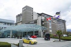 El hotel de Westin en Vancouver - VANCOUVER - CANADÁ - 12 de abril de 2017 Imágenes de archivo libres de regalías