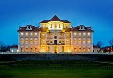 El hotel del castillo francés en Liblice Foto de archivo