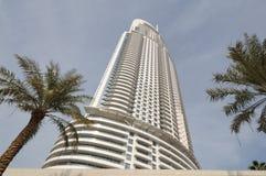 El hotel del direccionamiento en Dubai fotografía de archivo libre de regalías