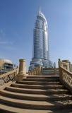 El hotel del direccionamiento en Dubai imagenes de archivo