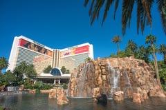 El hotel del espejismo en la tira de Las Vegas foto de archivo libre de regalías