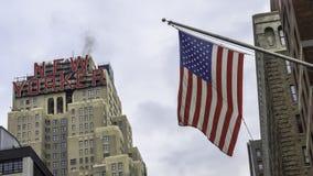 El hotel del neoyorquino Imágenes de archivo libres de regalías