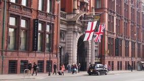 El hotel del palacio, Manchester, Inglaterra foto de archivo