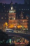 El hotel del Scotsman en Edimburgo Imagenes de archivo