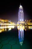 El hotel Dubai de la dirección Fotografía de archivo