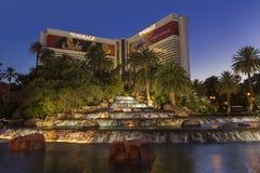 El hotel en Las Vegas, nanovoltio del espejismo el 29 de mayo de 2013 Fotos de archivo