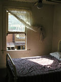 El hotel frecuentado en Oatman Arizona Imagen de archivo libre de regalías