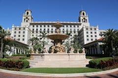 El hotel histórico del Palm Beach de los trituradores Foto de archivo