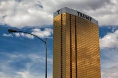 El hotel Las Vegas del triunfo. Imagen de archivo libre de regalías