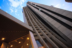 El hotel más alto en España Foto de archivo libre de regalías
