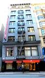 El hotel místico, San Francisco Alterado permanentemente debido a la construcción próxima del túnel fotografía de archivo