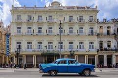 El hotel mítico Inglaterra en La Habana, Cuba Fotografía de archivo libre de regalías