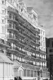 El hotel magnífico, Brighton, Reino Unido Imagenes de archivo