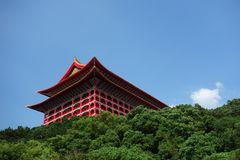 El hotel magnífico en Taipei, Taiwán Fotos de archivo