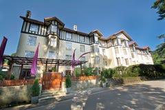 El hotel magnífico, Nuwara Eliya Sri Lanka Foto de archivo