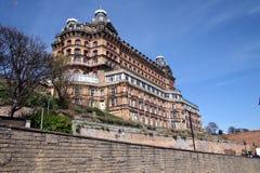 El hotel magnífico, Scarborough Fotos de archivo