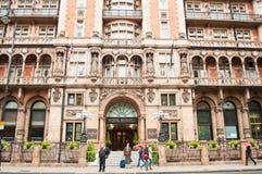 El hotel Russell en Londres Imagen de archivo