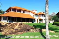 El hotel Saman Villas Imagen de archivo libre de regalías