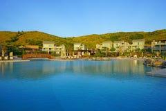 El hotel turístico del St San Cristobal de Hyatt del parque en St San Cristobal y Nevis Imagen de archivo