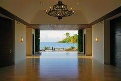 El hotel turístico del St San Cristobal de Hyatt del parque en St San Cristobal y Nevis Imagenes de archivo
