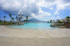 El hotel turístico del St San Cristobal de Hyatt del parque en St San Cristobal y Nevis Foto de archivo libre de regalías