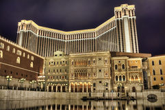 El hotel veneciano Imagen de archivo libre de regalías