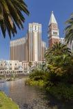 El hotel veneciano durante la luz del día en Las Vegas, nanovoltio el 5 de junio, Fotos de archivo