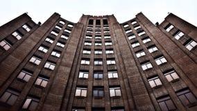 El hotel viejo Imágenes de archivo libres de regalías