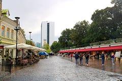 El hotel Viru en el mercado de Tallinn y de la flor se fue Durante la era soviética, el 23ª planta del hotel contuvo un centro de fotos de archivo libres de regalías