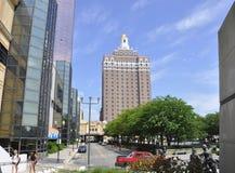 El hotel y el casino de Claridge en el centro turístico de Atlantic City de New Jersey los E.E.U.U. imágenes de archivo libres de regalías