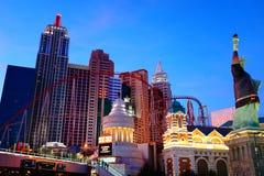 El hotel y el casino 9 de Nueva York Nueva York imágenes de archivo libres de regalías