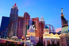 El hotel y el casino 8 de Nueva York Nueva York foto de archivo