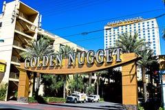 El hotel y el casino de oro de la pepita fotografía de archivo libre de regalías