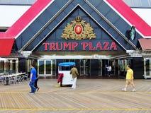 El hotel y el casino anteriores de la plaza del triunfo en Atlantic City, NJ Fotografía de archivo