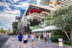 El hotel y el casino cosmopolitas Foto de archivo