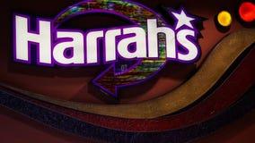 El hotel y el casino de Harrah en Las Vegas Imagenes de archivo
