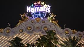El hotel y el casino de Harrah en Las Vegas Fotografía de archivo libre de regalías