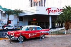 El hotel y el casino de Tropicana Foto de archivo