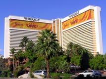 El hotel y el casino del espejismo en Las Vegas Nevada Imagenes de archivo