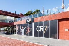 El hotel y el museo del CR de Christiano Ronaldo Pestana Fotografía de archivo libre de regalías