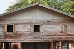 El house#2 de madera del monje Foto de archivo
