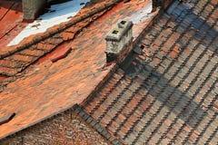 El house-top Foto de archivo libre de regalías