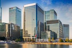 El HQ de Canary Wharf de la agencia de medicinas europeas Fotos de archivo
