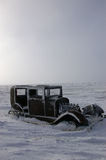 El Hudson congelado Imagenes de archivo