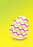 El huevo de Pascua Fotografía de archivo libre de regalías