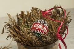 El huevo de Pascua en Jericó subió Imágenes de archivo libres de regalías