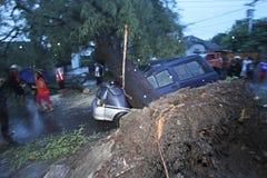 El huracán Foto de archivo libre de regalías