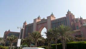El hyperlapse solar de Jumeirah de la palma metrajes