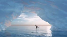 El iceberg del arco imagen de archivo libre de regalías