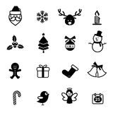 el icono 038-Christmas fijó 001 Imágenes de archivo libres de regalías
